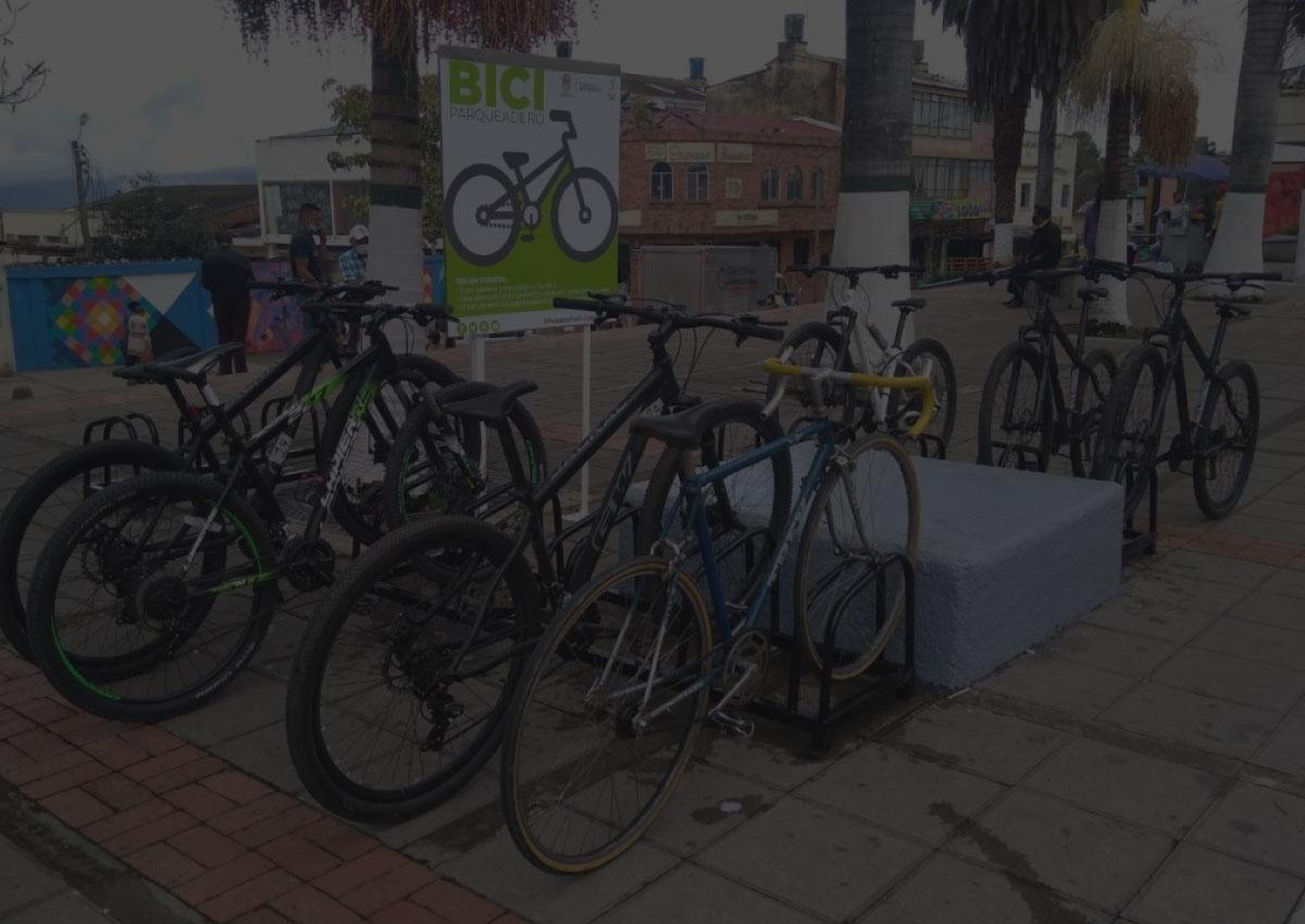 Los biciparqueaderos en Fusagasugá son una realidad.